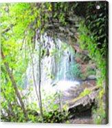 Stumphouse Tunnel Acrylic Print