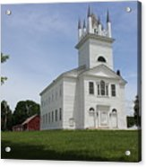 Sudbury Congregational Church  Acrylic Print