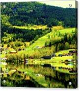 Summer In Norway Acrylic Print