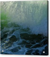 Sunlight And Surf Acrylic Print