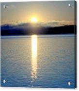 Sunrise 6 8 17 Malletts Bay Acrylic Print