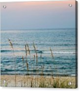 Sunrise And Sand Acrylic Print