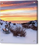 Sunrise At Marginal Way Acrylic Print