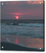 Sunrise At The Beach Acrylic Print