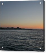 Sunrise At Townsends Inlet Acrylic Print