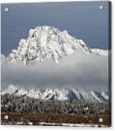 Sunrise In Grand Teton National Park Acrylic Print