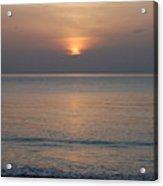 Sunrise In Vero Beach Acrylic Print