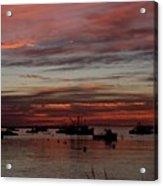Sunrise Rye Nh Acrylic Print