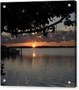 Sunset At Islamorada Acrylic Print