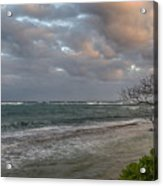 Sunset At Kapaa - Kauai Acrylic Print