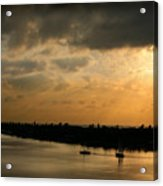 Sunset At Pass A Grille Florida Acrylic Print