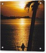 Sunset Cross Acrylic Print