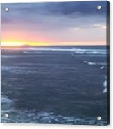 Sunset In Aguadillia Puerto Rico  Acrylic Print
