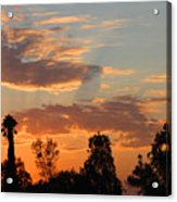 Sunset Moreno Valley Ca Acrylic Print