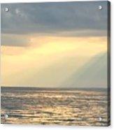 Sunset On The Sound Acrylic Print