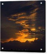 Sunset Over Daytona International Speedway Acrylic Print