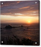 Sunset Watch Acrylic Print
