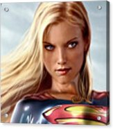 Supergirl Collection Acrylic Print