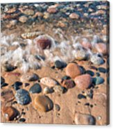 Surf And Stones Acrylic Print