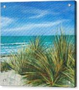 Surf Beach Acrylic Print
