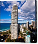 Surfers Paradise View Acrylic Print