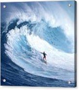 Surfing Acrylic Print