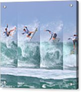 Surfing Sequence Acrylic Print