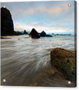 Surrounded By The Tides Acrylic Print