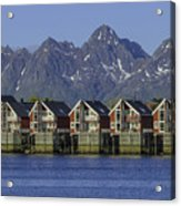 Svolvaer Norway Acrylic Print