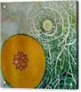 Sweet Melon Patterns Acrylic Print