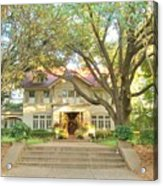 Swiss Avenue Historic Mansion Dallas Texas Acrylic Print