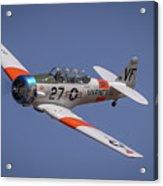 T6 At Reno Air Races Acrylic Print