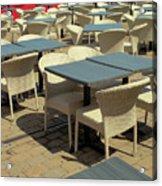 Tables Acrylic Print