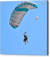 Tandem Paragliding Acrylic Print