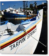 Tarpon Springs Acrylic Print