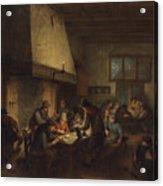 Tavern Scene Acrylic Print