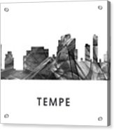 Tempe Arizona Skyline Acrylic Print