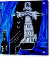 Temptation Of Jesus Acrylic Print