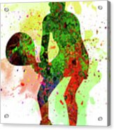 Tennis Player Acrylic Print