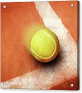 Tennis Point Acrylic Print