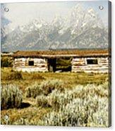 Teton Ranch Acrylic Print