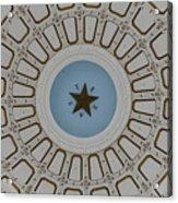 Texas State Capitol - Interior Dome Acrylic Print