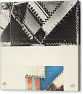 Textile: Technique Demonstration Acrylic Print
