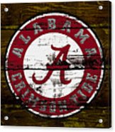 The Alabama Crimson Tide Acrylic Print
