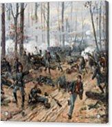 The Battle Of Shiloh Acrylic Print
