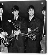 The Beatles Acrylic Print by Granger