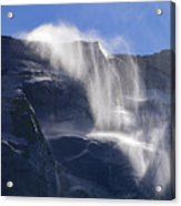 The Beautiful Bridalveil Falls Of Yosemite Acrylic Print
