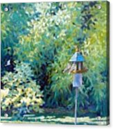 The Bird Feeder Acrylic Print