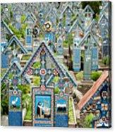The Blue Cemetery Acrylic Print