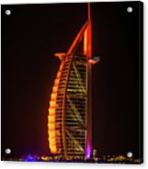 The Burj Al Arab Acrylic Print
